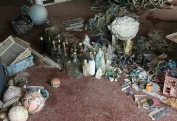 Debris ramassés sur les plages de Tern Island en un mois